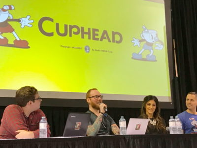 Cuphead developers panel
