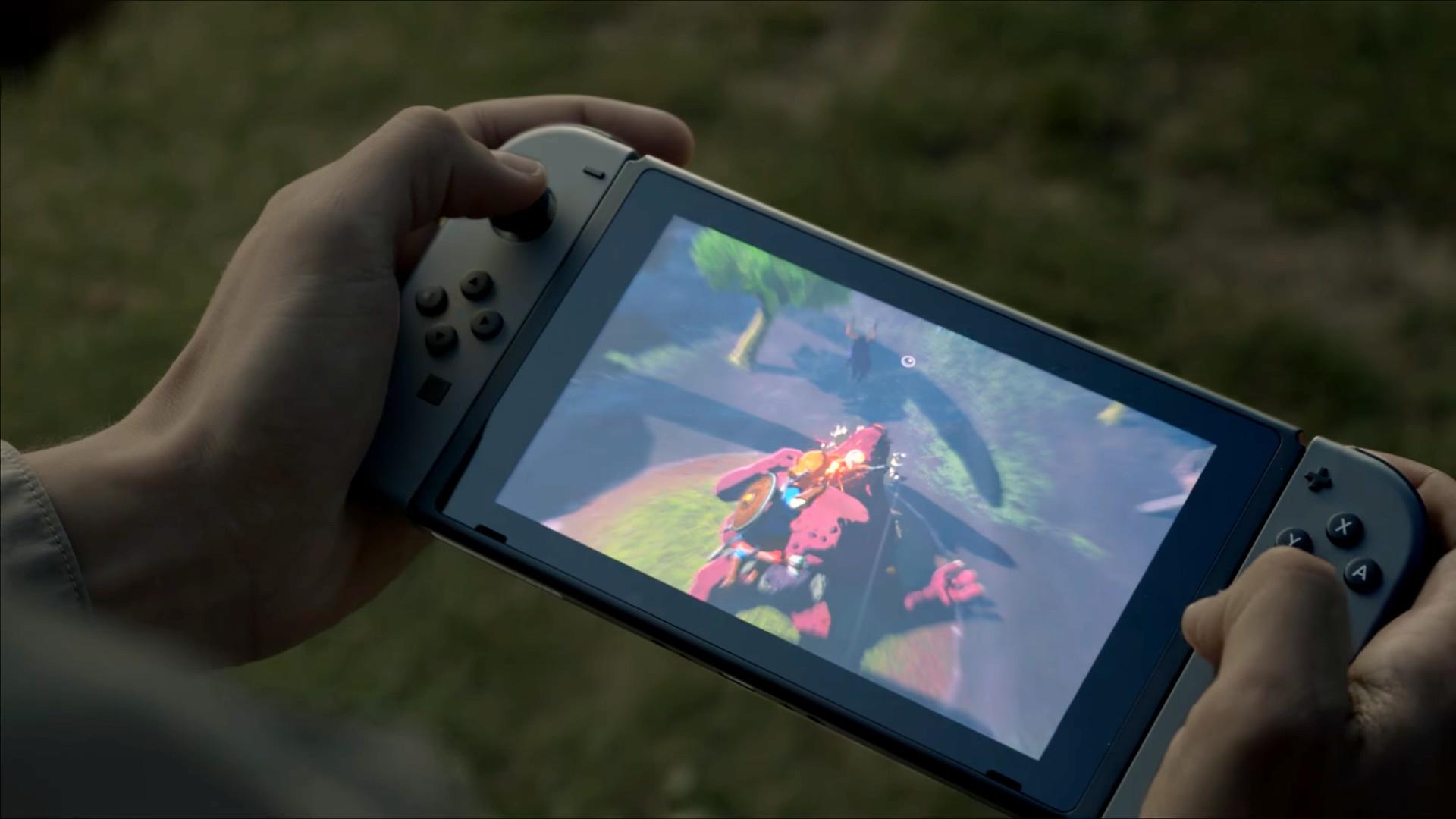 Nintendo Switch Breath of the Wild