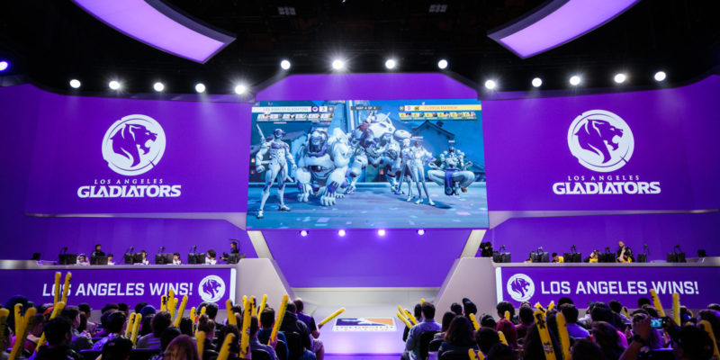 Kroenke Sports & Entertainment esports front office, Los Angeles Gladiators