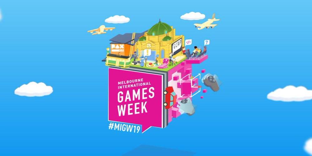 Melbourne International Games Week October 2019 banner