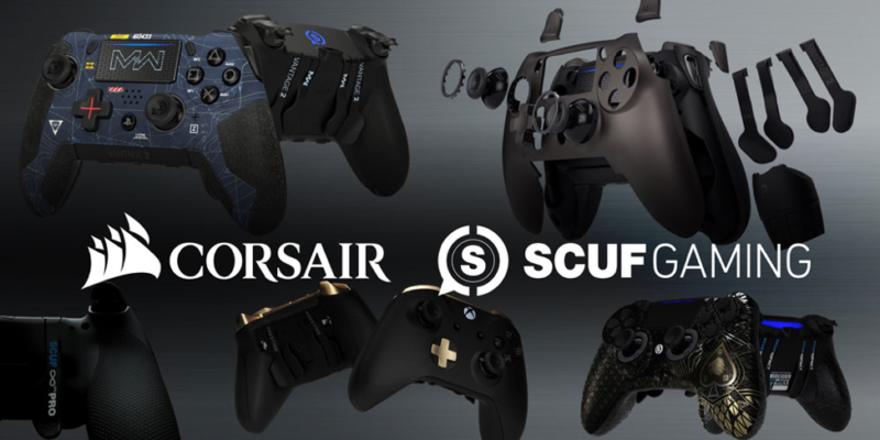 Corsair acquires gaming controller brand SCUF Gaming
