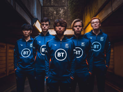 Excel Esports partners with telecommunications company BT