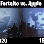 fortnite vs apple